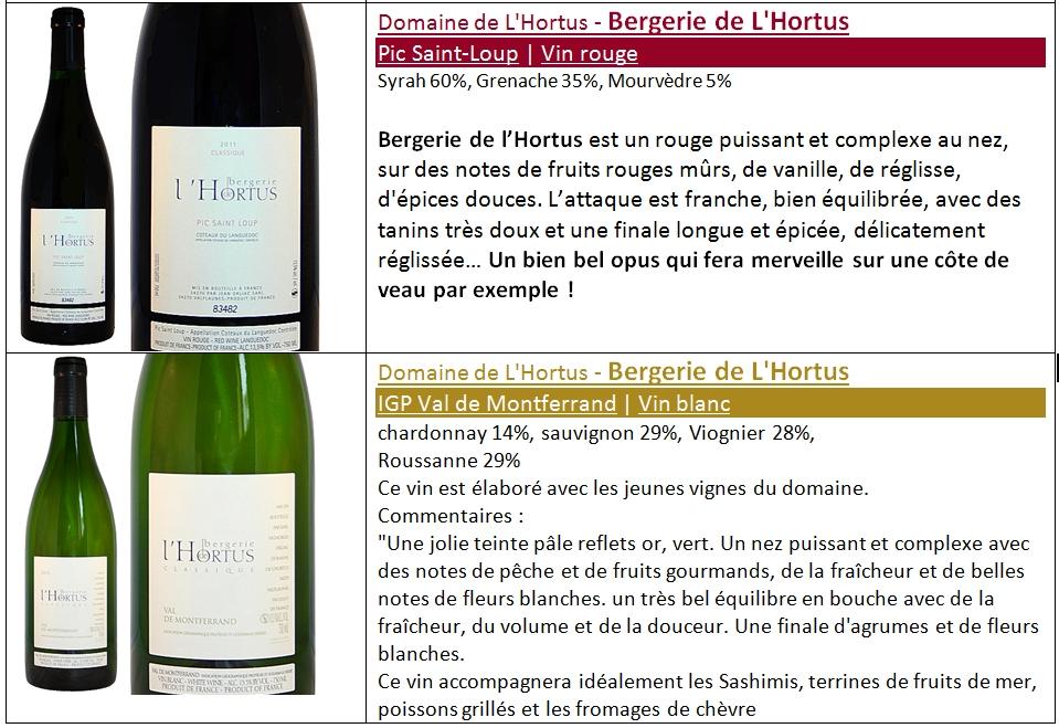 bandeau les vins hortus les cuvées classiques