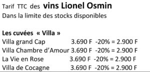 les vins de Lionel Osmin _4